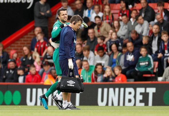 Image for West Ham fans urge David Moyes to be careful with Lukasz Fabianski