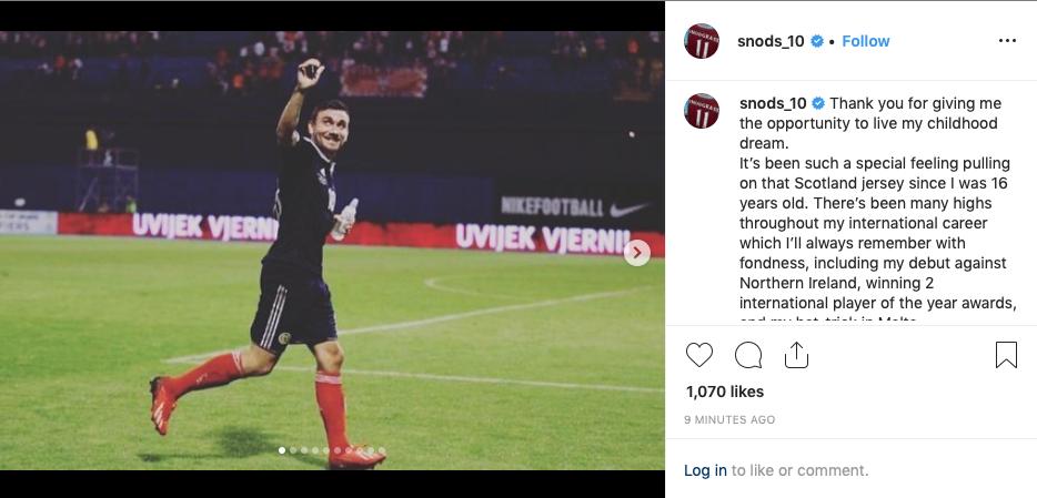 Confirmed: West Ham player retires from international football in emotional Instagram post