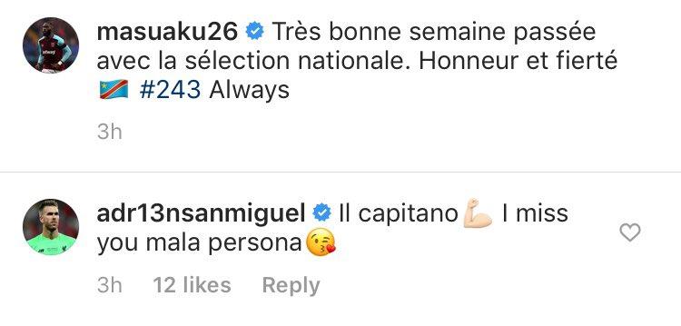 Adrian sends heartfelt Instagram message to West Ham defender