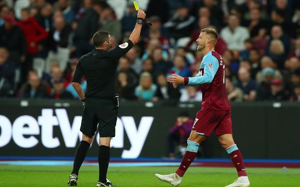 Image for Pellegrini snubs Yarmolenko question after Palace defeat