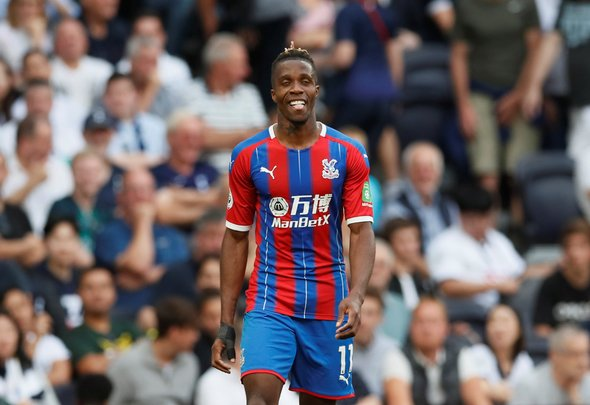 West Ham fans want Zaha banned by FA after defeat v Palace