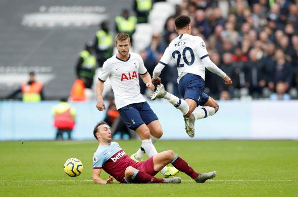 Image for West Ham fans heap praise on Noble v Spurs