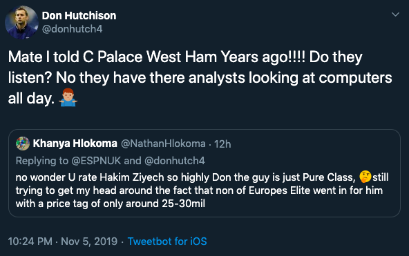 """'Do they listen""""' - Don Hutchison claims he told West Ham about Ajax star 'years ago'"""