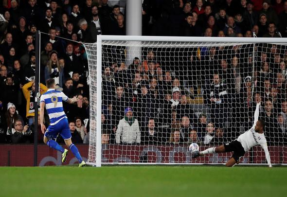 Image for Hugill scores for QPR v Fulham