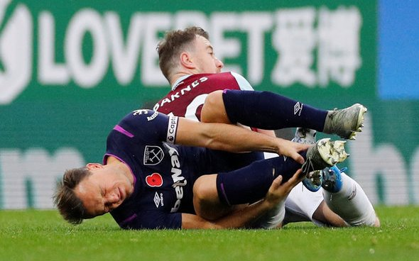 Image for Noble to have scan on ankle injury