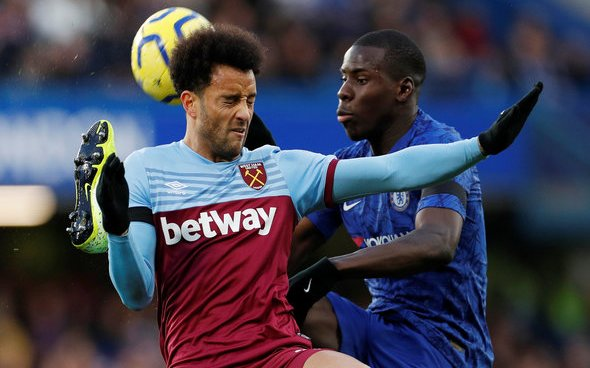 Image for West Ham fans react to Felipe Anderson injury update
