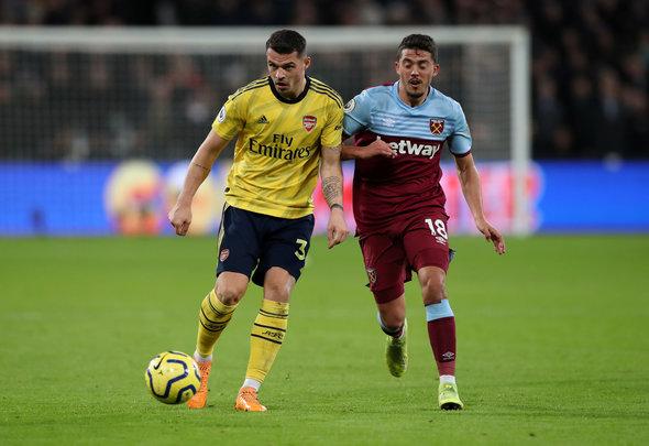 Image for West Ham fans rave over Fornals v Arsenal
