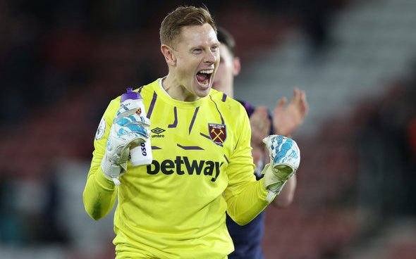 Image for West Ham could have 'keeper dilemma v Crystal Palace