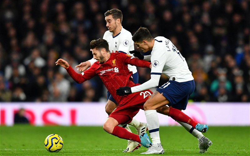 Image for West Ham fans not keen on Liverpool's Adam Lallana