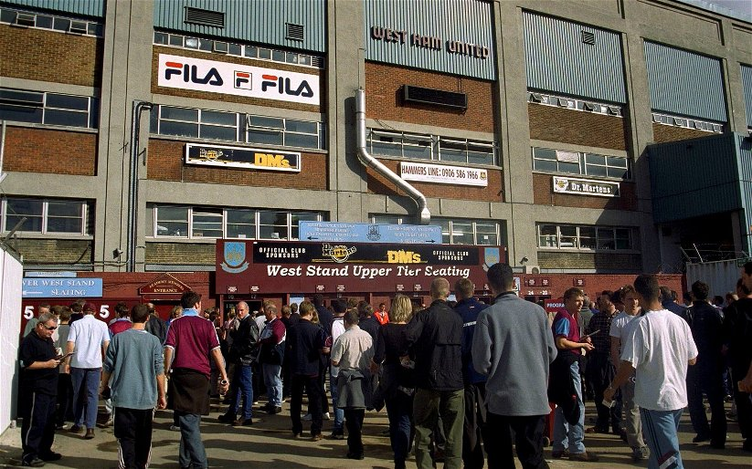 Image for West Ham supporters recall their first game at Upton Park on social media