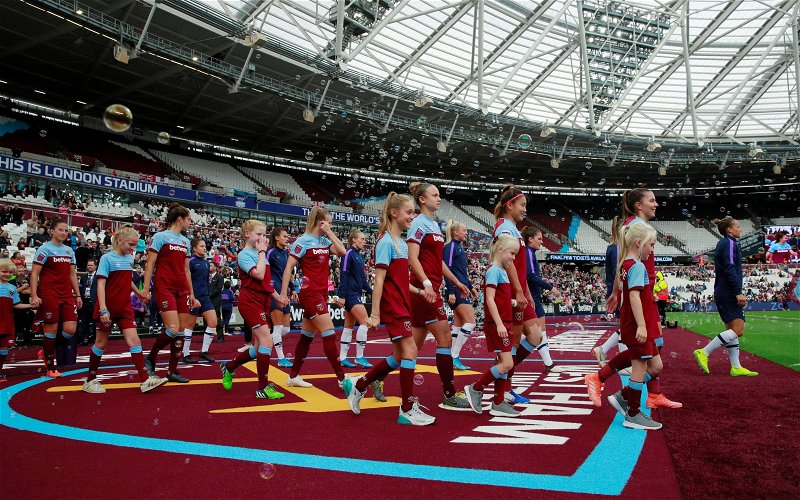 Image for West Ham fans react as Women maul Liverpool in WSL