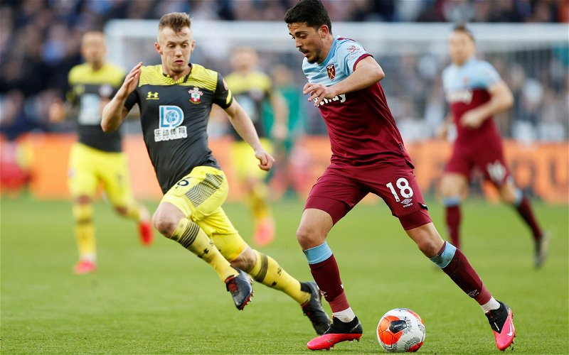 Image for Pundit View: Former England man's Fornals comments were unfair
