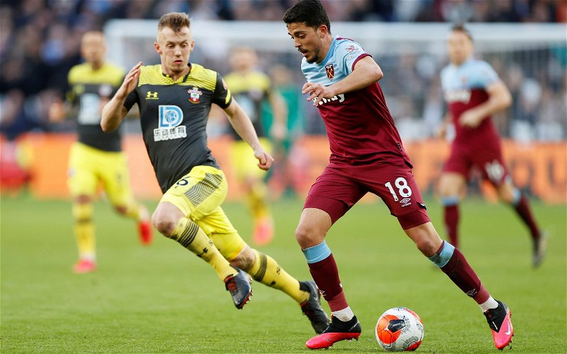 Image for Report: Fornals an Injury Doubt for Arsenal Clash