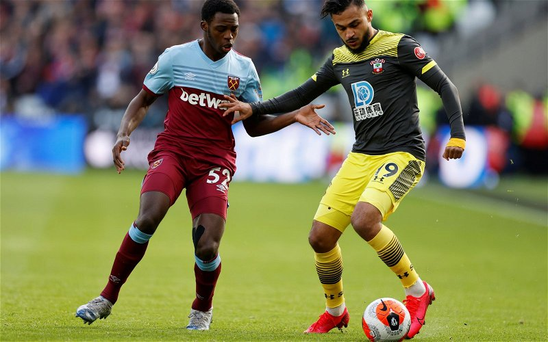 Image for West Ham fans react to Jeremy Ngakia's impressive comments