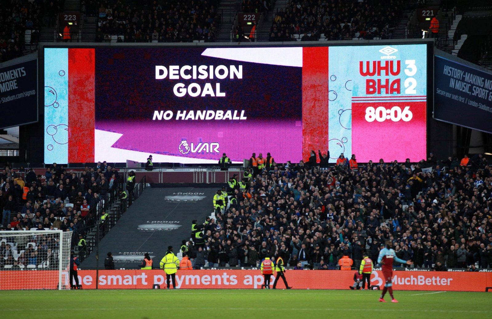Image for West Ham fans on social media think Premier League VAR table is typical
