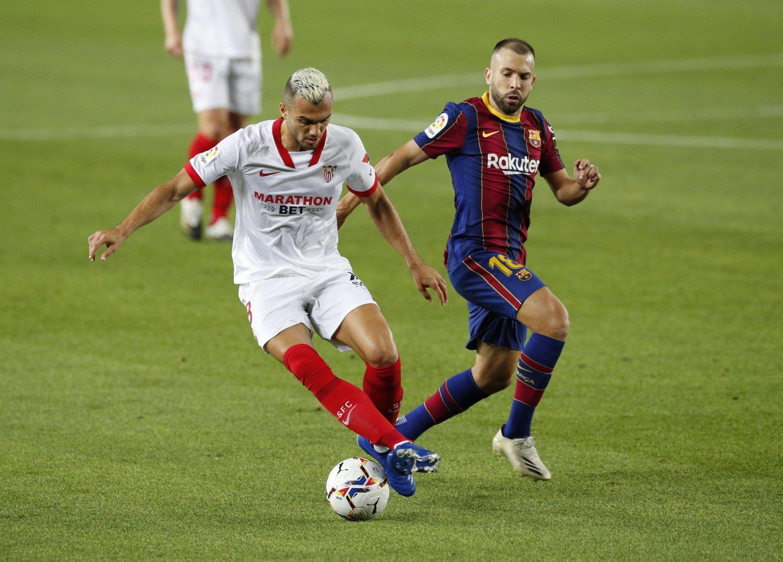 Image for Report: West Ham pursue Sevilla midfielder Joan Jordan