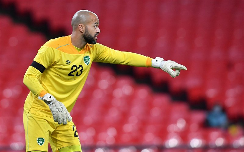 Image for Darren Randolph ruled out of international duty