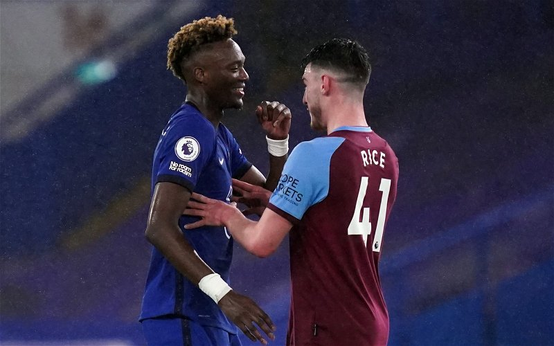Image for Report: Declan Rice Valued as High as £70m