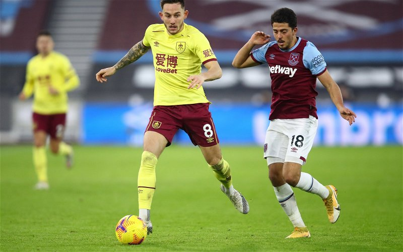 Image for West Ham target Josh Brownhill not for sale