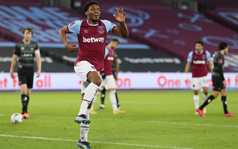 Image for West Ham starlet Oladapo Afolayan wanted 'long term'