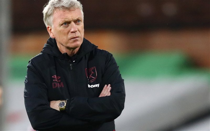Image for Many West Ham fans angry over David Moyes' contract terms