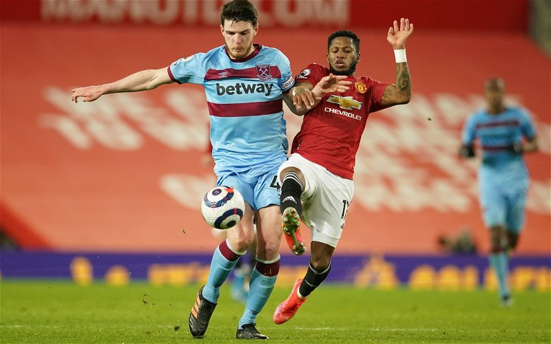 Image for Report: Manchester United unanimous in Declan Rice pursuit