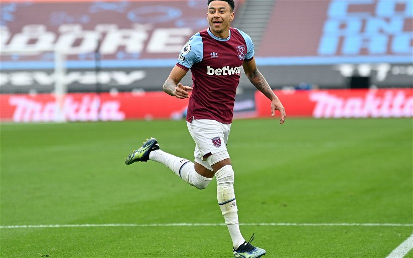 Image for Hoards of West Ham fans call for Jesse Lingard to stay